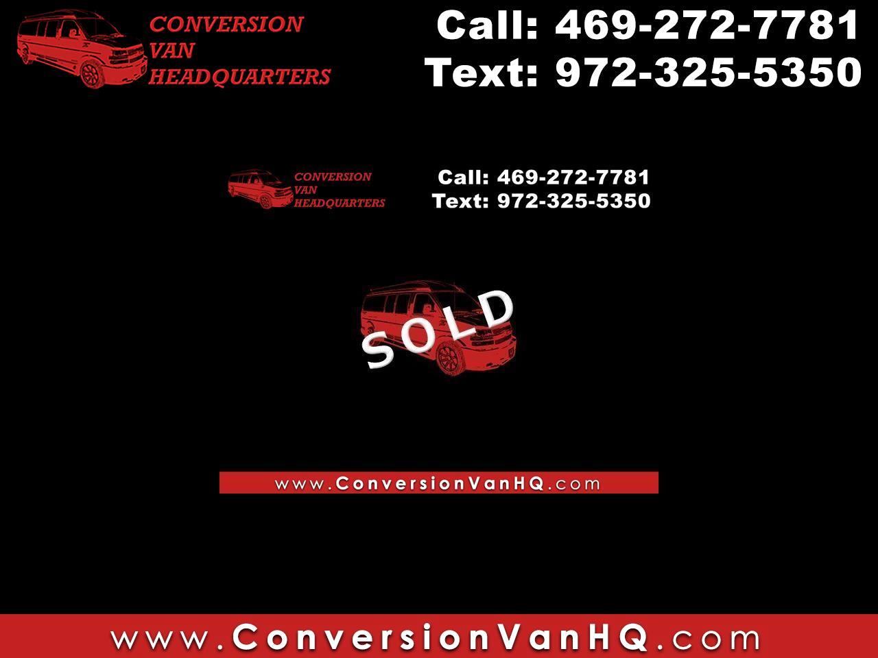 GMC Savana RV G2500 3LT 2014