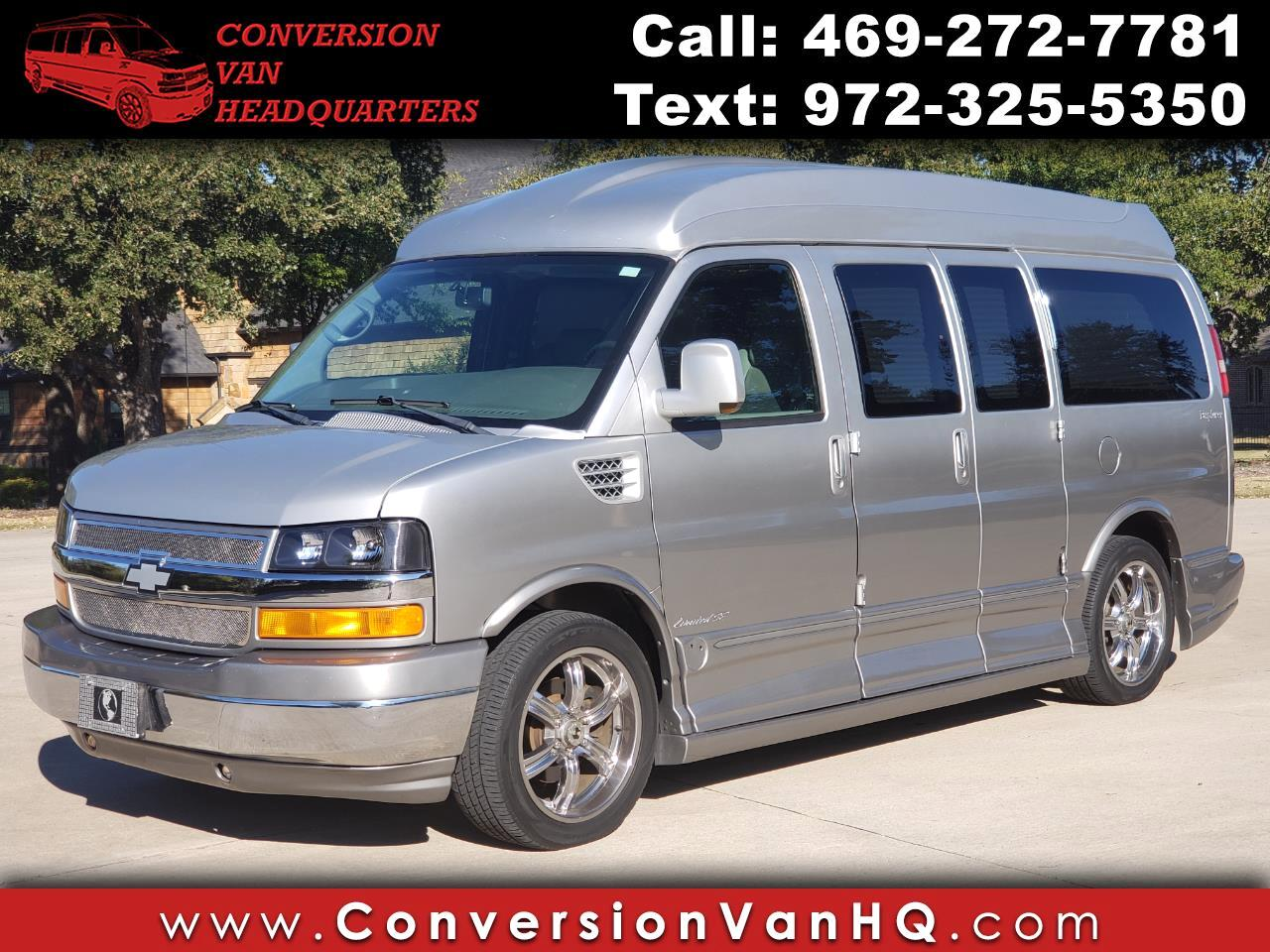 2010 Chevrolet Express Express 1500 Hightop Explorer Limited SE Conversio
