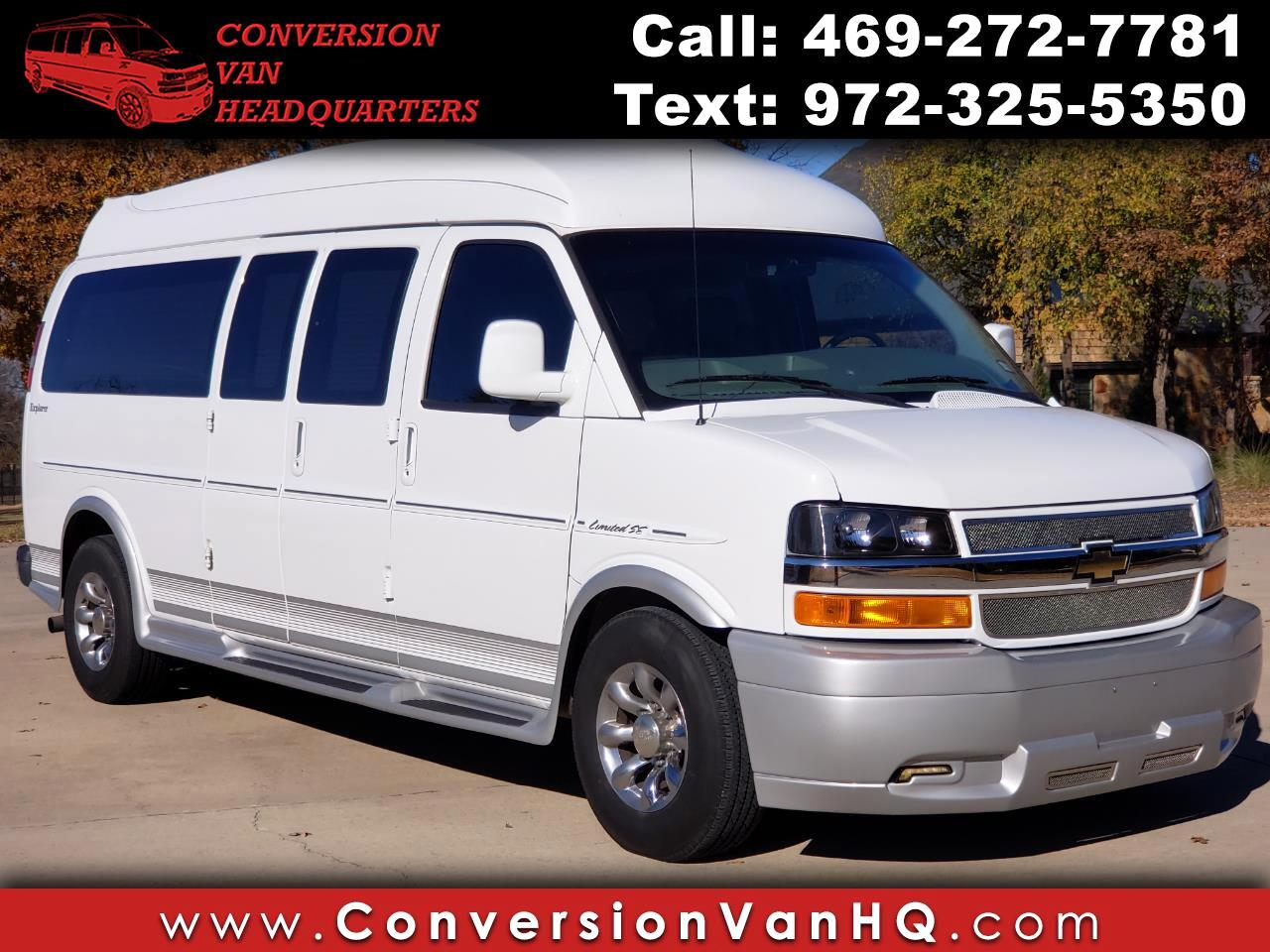 2013 Chevrolet Express 3500 EXPLORER HIGHTOP 9 PASSENGER EXPLORER!