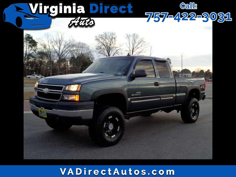 2006 Chevrolet Silverado 2500HD Ext. Cab Short Bed 4WD