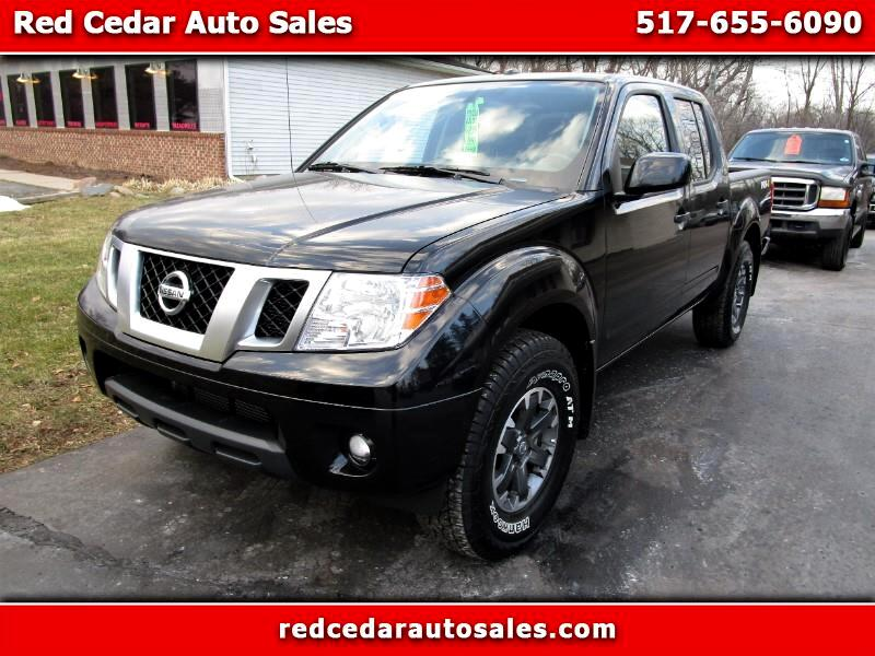2018 Nissan Frontier Crew Cab PRO-4X 4WD
