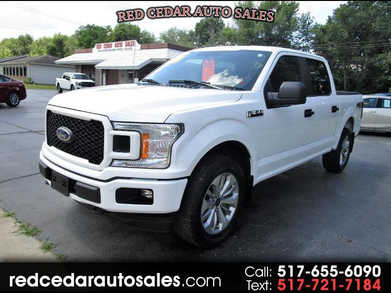 2018 Ford F-150 STX SuperCrew 5.5-ft. Bed 4WD