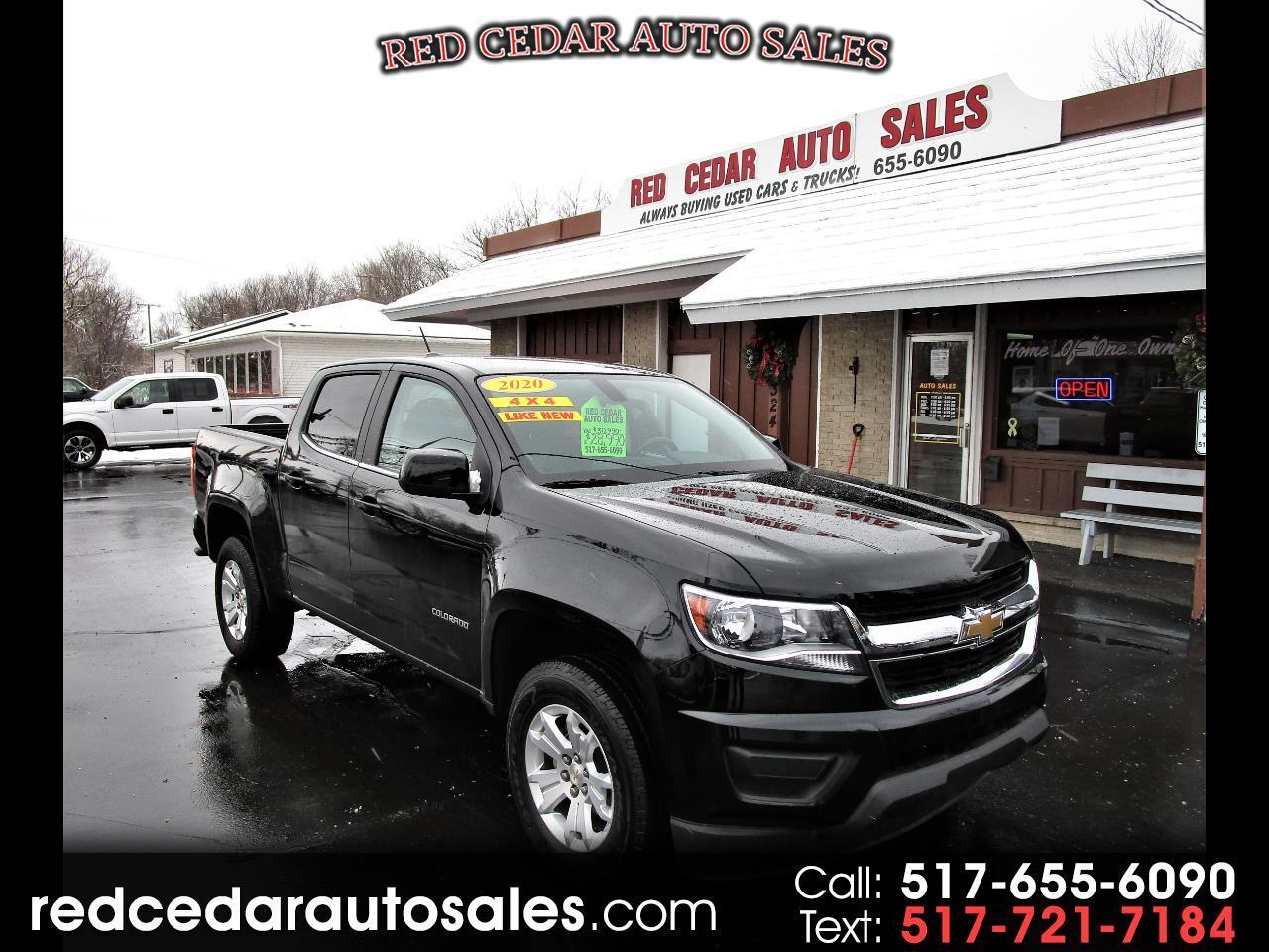 """Chevrolet Colorado 4WD Crew Cab 128"""" LT 2020"""