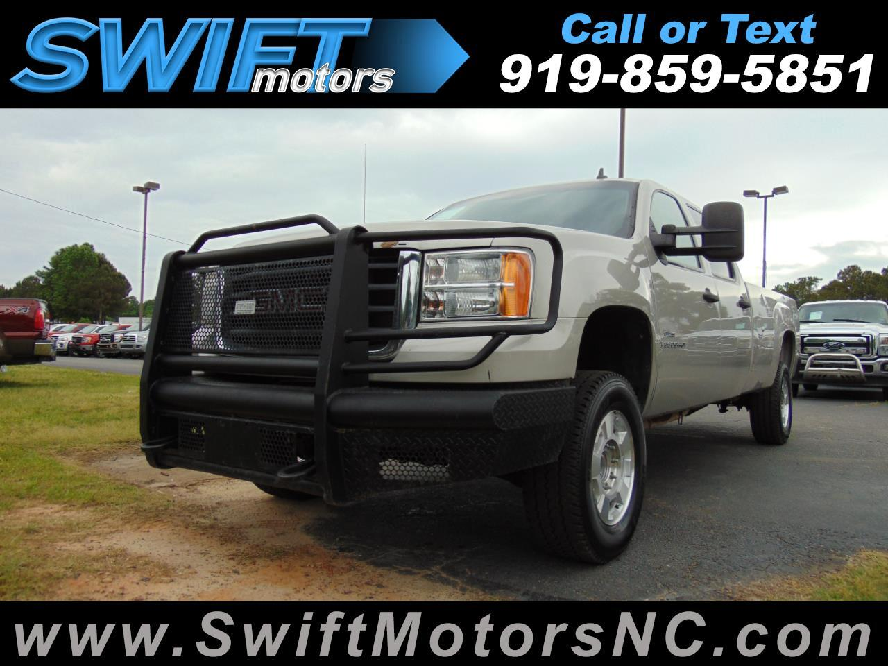 2008 GMC Sierra 2500HD SLE Crew Cab Long Bed 4WD