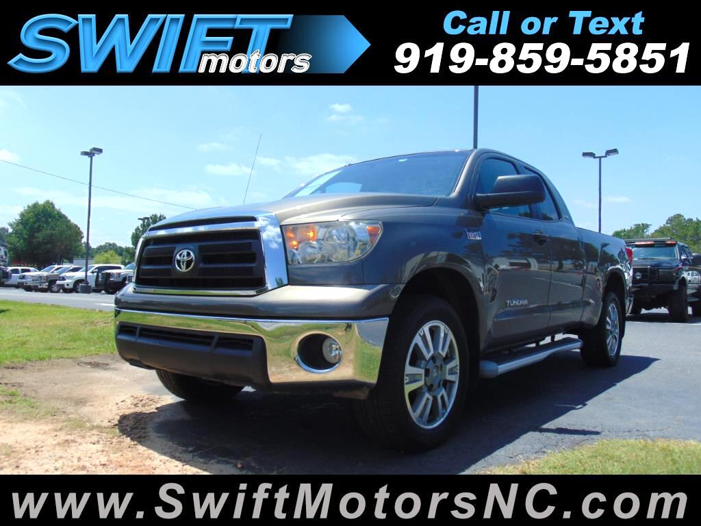 2010 Toyota Tundra 4WD Truck Double Cab 5.7L FFV V8 6-Spd AT SR5 (Natl)