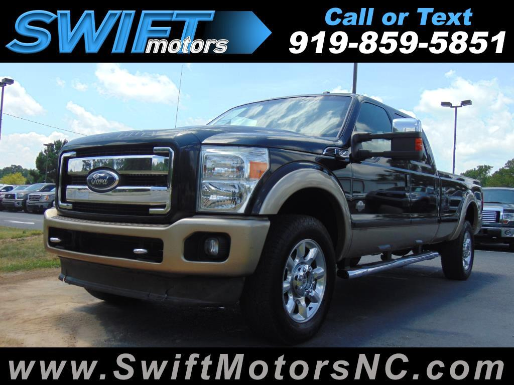 Ford Super Duty F-350 SRW King Ranch 4WD Crew Cab 8' Box 2011