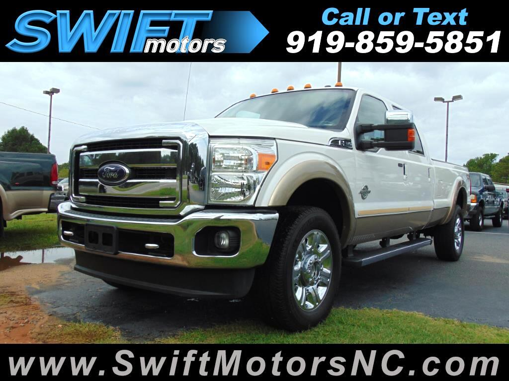 2012 Ford Super Duty F-350 SRW 4WD Crew Cab Lariat Long Bed