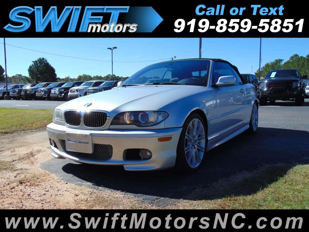 2004 BMW 3 Series 330Ci 2dr Convertible