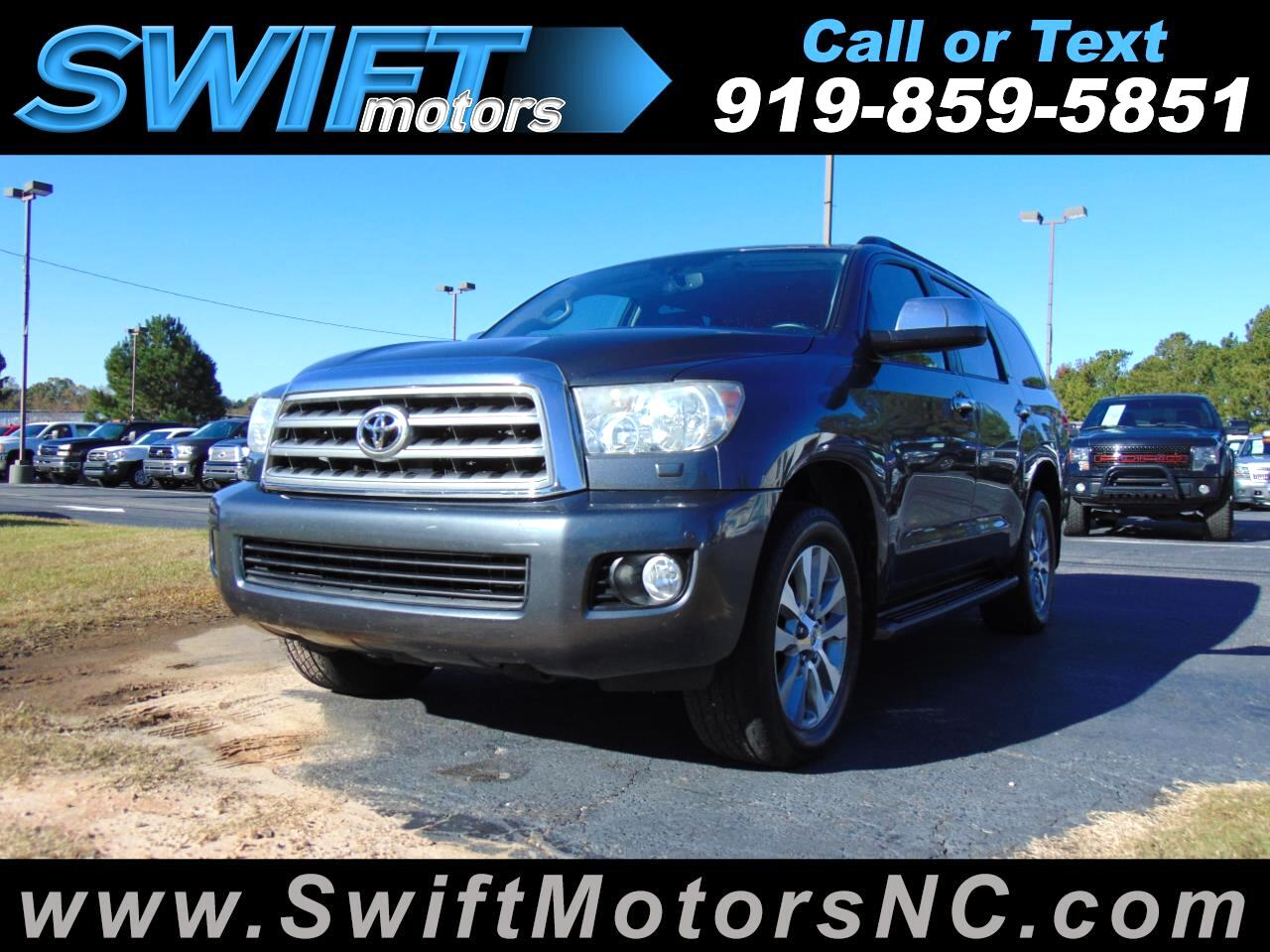 2011 Toyota Sequoia RWD LV8 6-Spd AT Ltd (Natl)