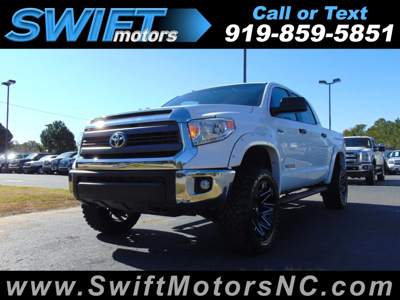 2014 Toyota Tundra CrewMax 5.7L FFV V8 6-Spd AT SR5 (Natl)