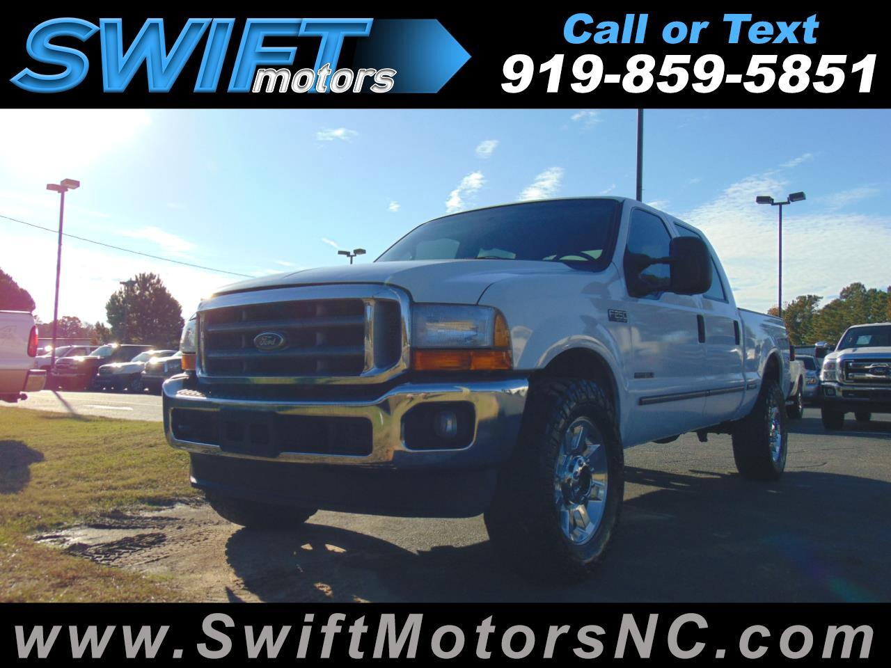 "1999 Ford Super Duty F-250 Crew Cab 156"" XL 4WD"