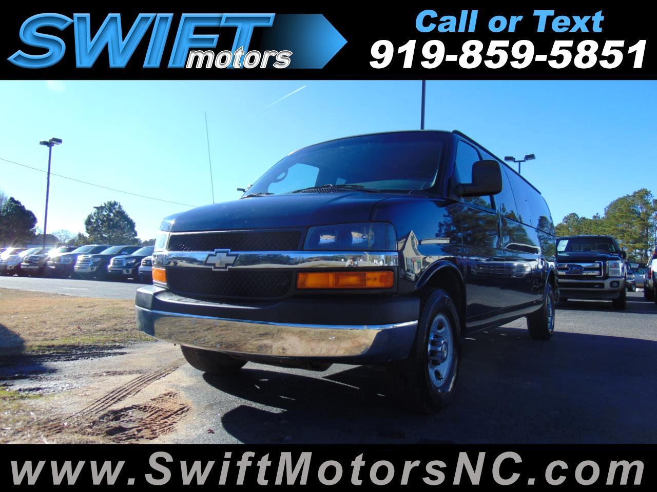 "2011 Chevrolet Express RWD 3500 155"" 1LT"