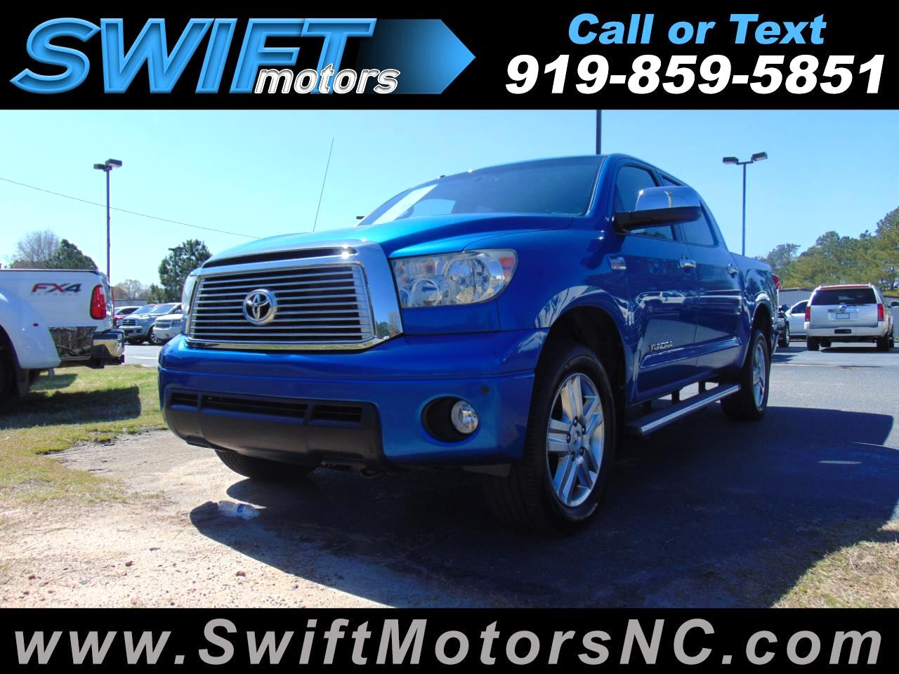 2010 Toyota Tundra CrewMax 5.7L V8 6-Spd AT LTD (Natl)