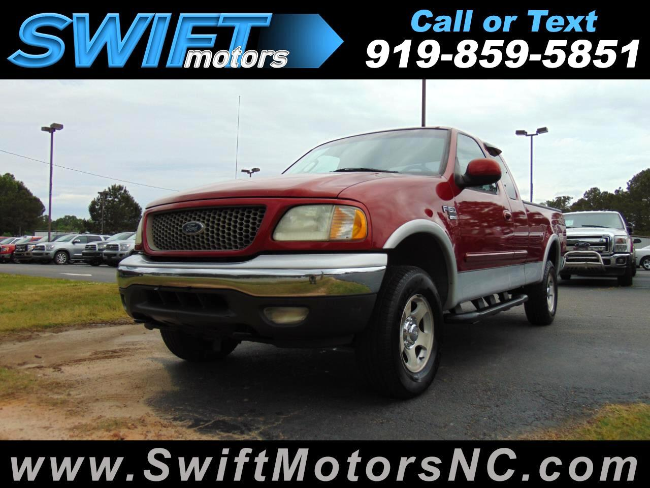 Used 2002 Ford F 150 Xlt Supercab Short Bed 4wd For Sale In