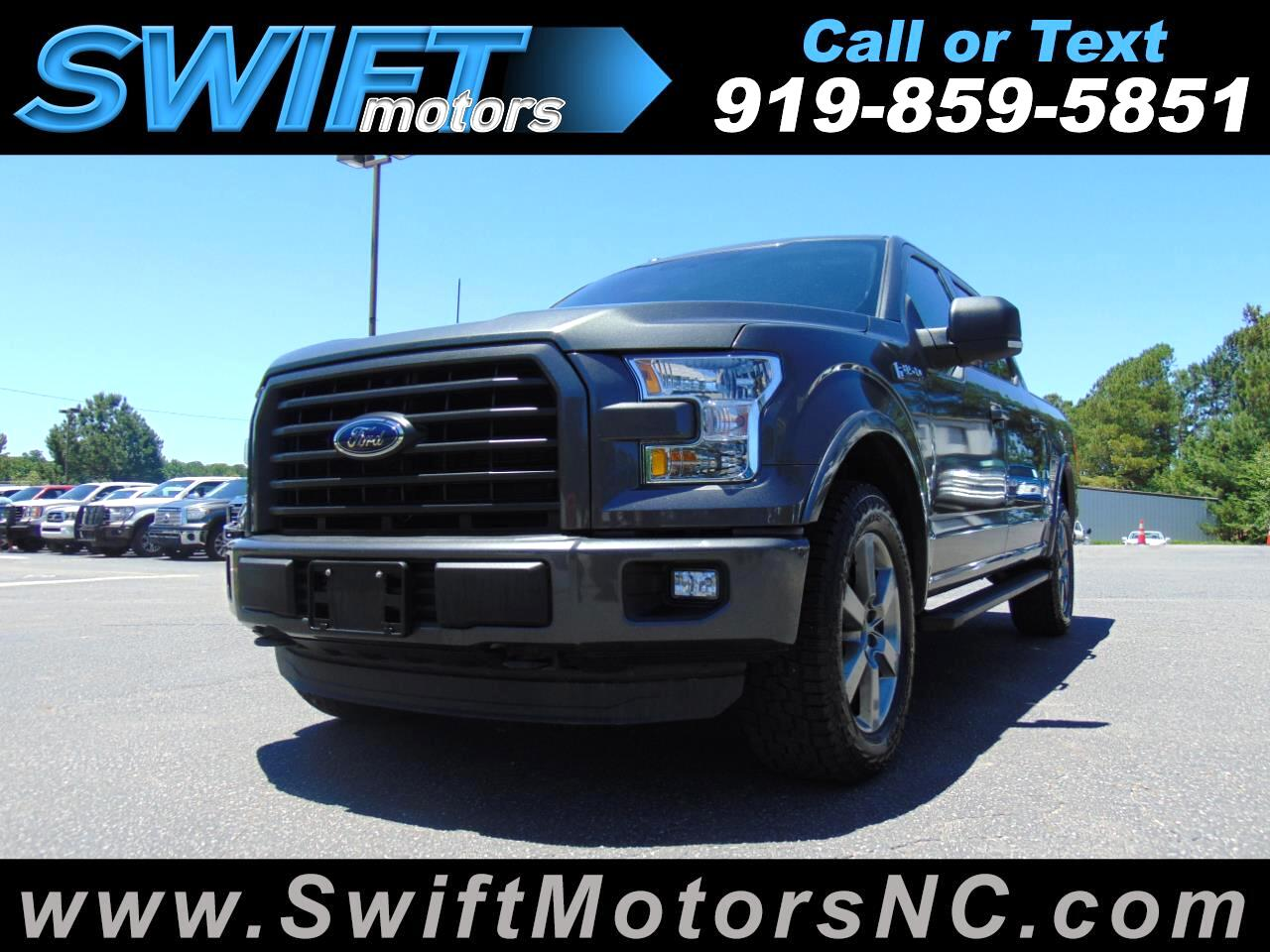 "Ford F-150 4WD SuperCrew 145"" FX4 2015"