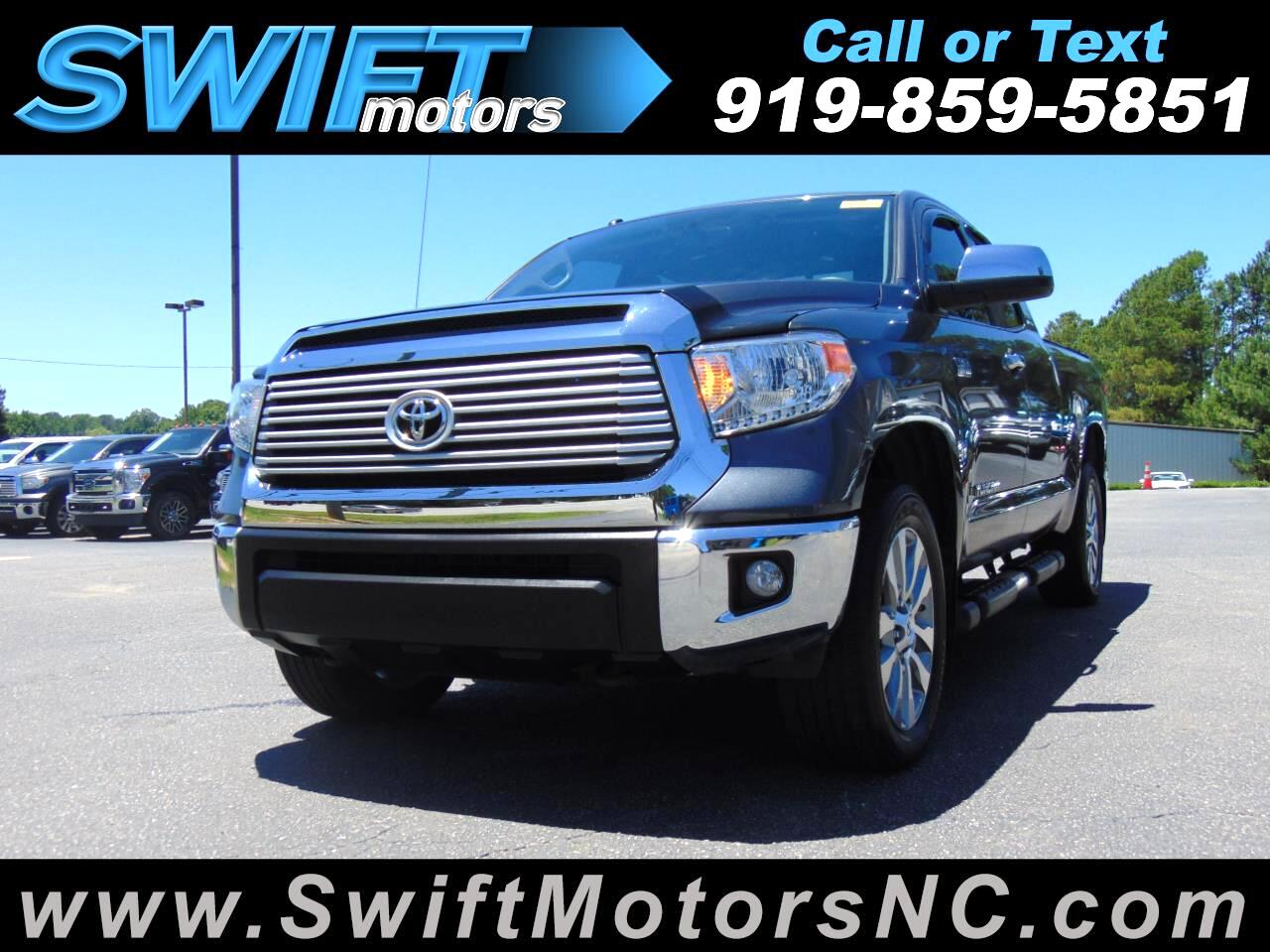 2014 Toyota Tundra 4WD Truck Double Cab 5.7L FFV V8 6-Spd AT LTD (Natl)