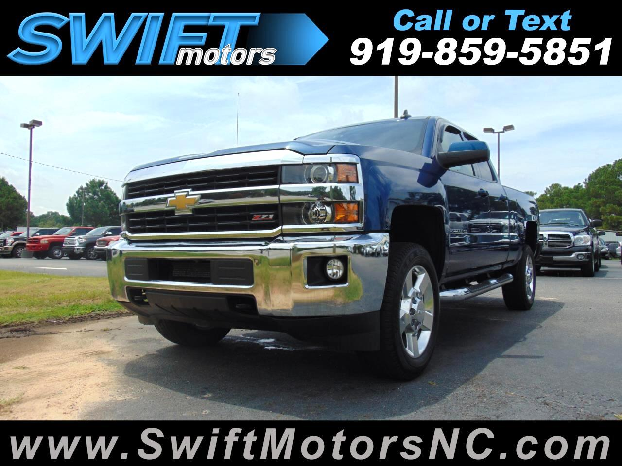 "2017 Chevrolet Silverado 2500HD 4WD Double Cab 144.2"" Z71"