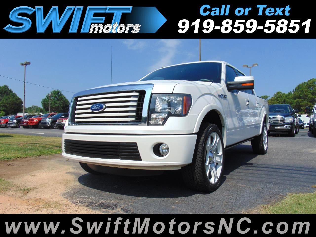 """2011 Ford F-150 4WD SuperCrew 145"""" Limited"""