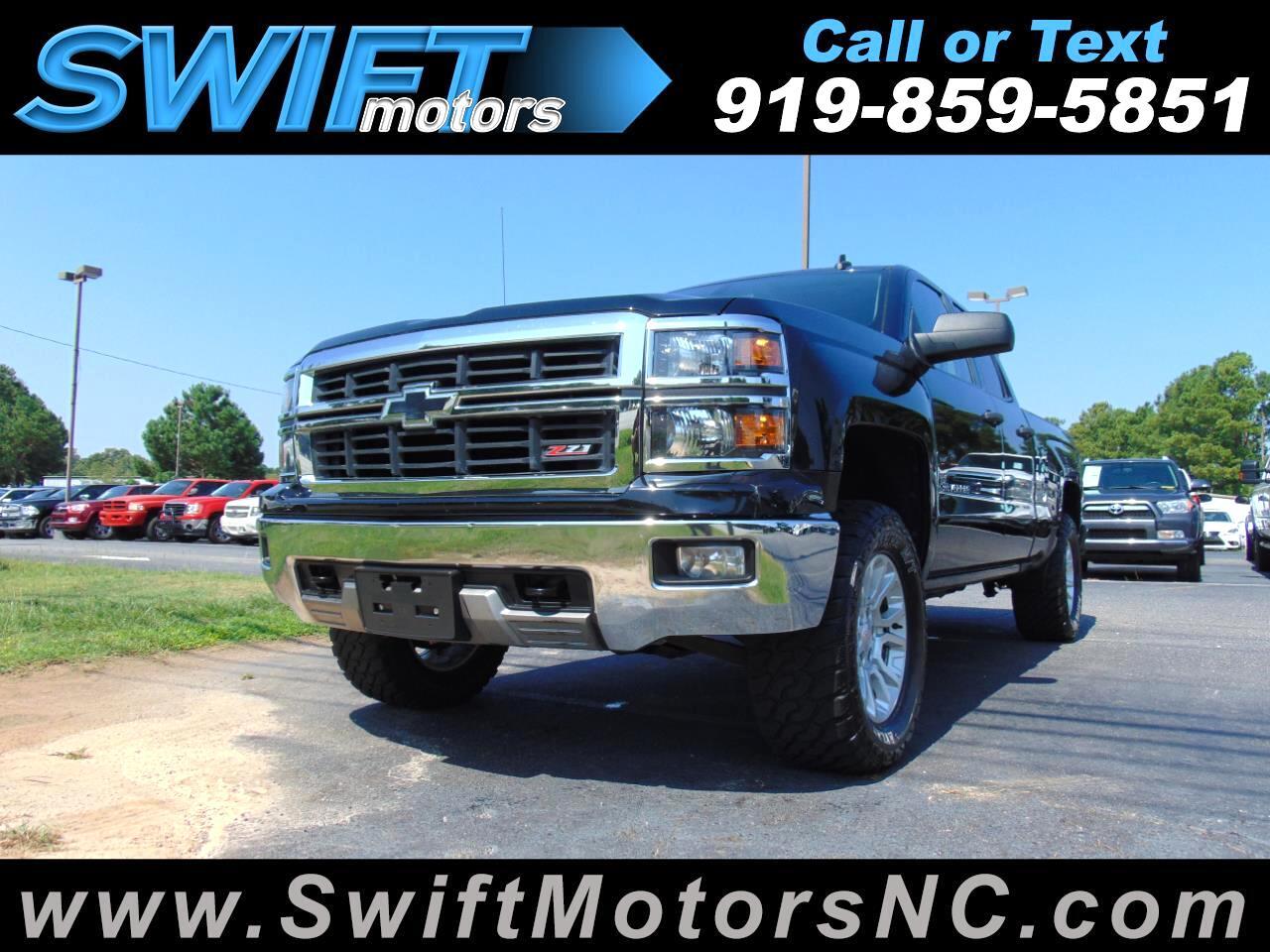 "2014 Chevrolet Silverado 1500 4WD Double Cab 143.5"" LT w/2LT"