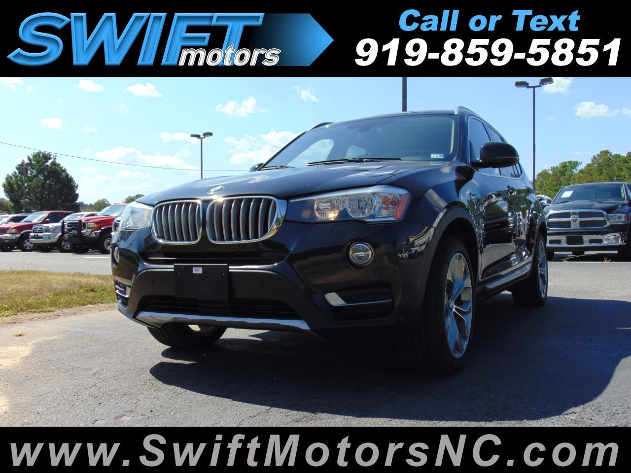 BMW X3 AWD 4dr xDrive28d 2016