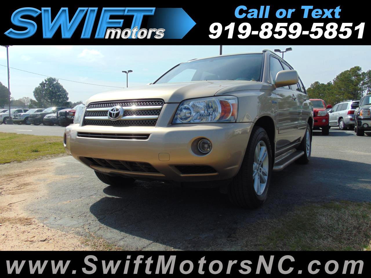 Toyota Highlander Hybrid 2WD 4dr Limited w/3rd Row (Natl) 2006