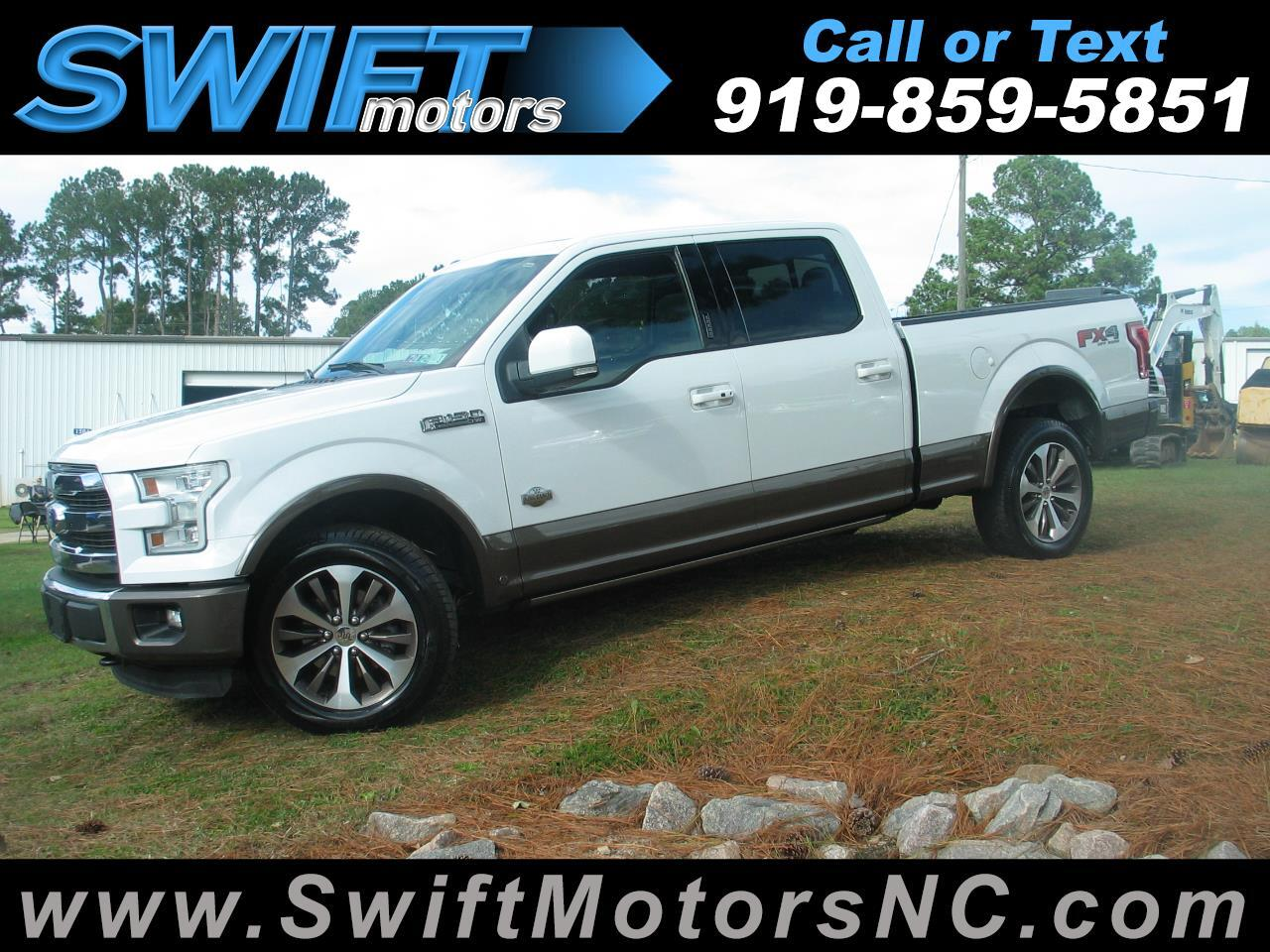 "Ford F-150 4WD SuperCrew 157"" King Ranch 2015"