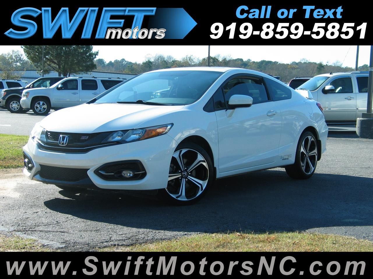 Honda Civic Coupe Si Manual 2015
