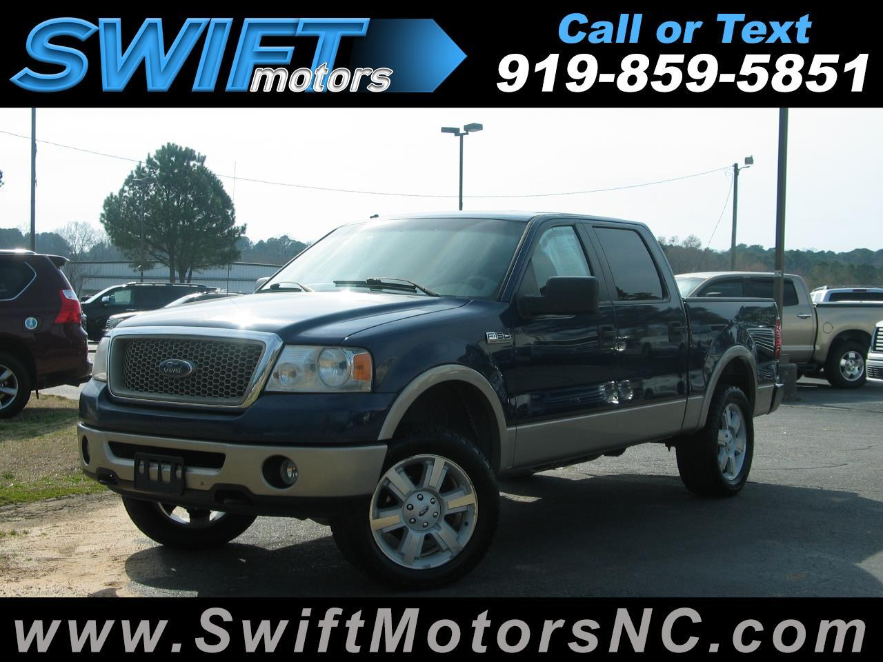 "Ford F-150 4WD SuperCrew 139"" Lariat 2007"