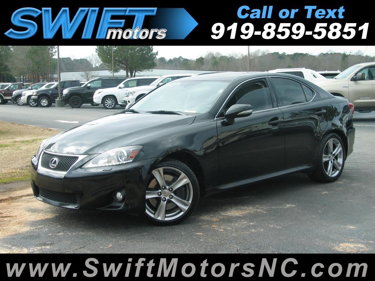 Lexus IS 350 4dr Sdn RWD 2013