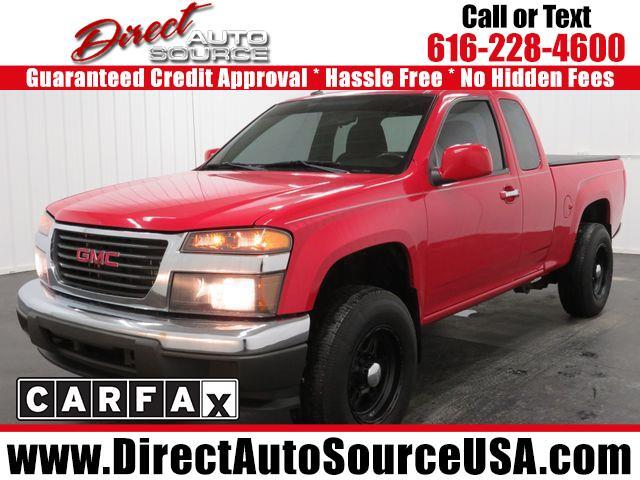 2010 GMC Canyon 4WD Ext Cab 125.9