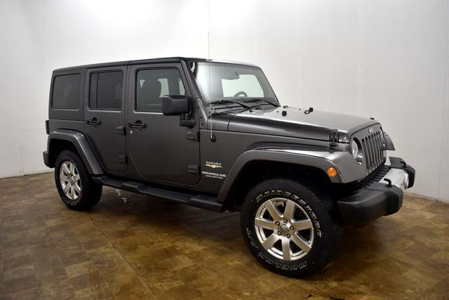 2014 Jeep Wrangler Unlimited Sahara 4WD