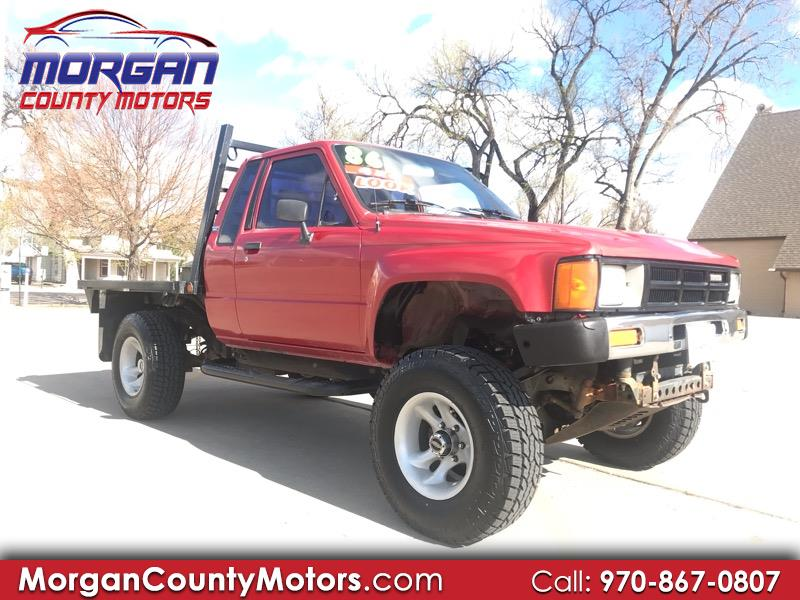 1986 Toyota Pickup Deluxe Short Bed XtraCab 4WD