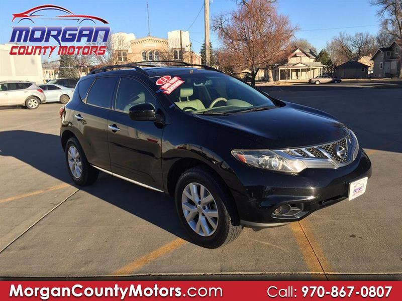 2014 Nissan Murano 4dr SL 2WD V6