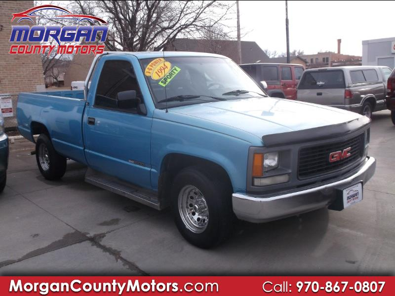 1994 GMC Sierra C/K 1500 Reg. Cab 6.5-ft. Bed 2WD