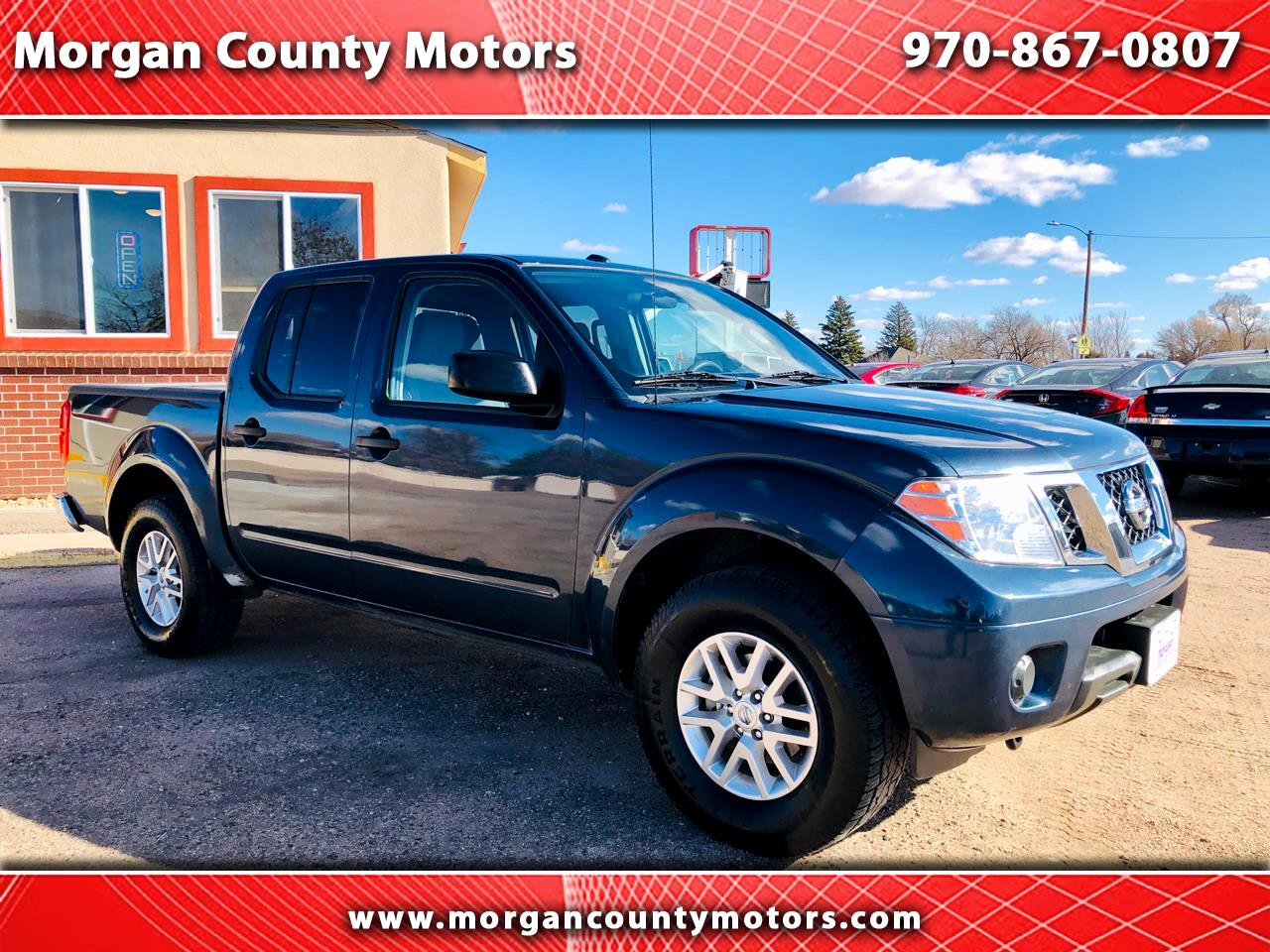 Nissan Frontier SV Crew Cab 5AT 4WD 2016