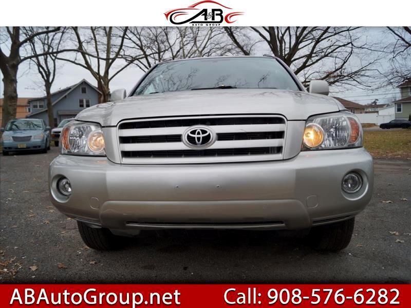 Toyota Highlander Limited V6 4WD 2007