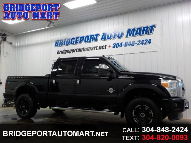 2016 Ford F-350 SD PLATINUM CREW CAB SRW SHORT BED 4WD