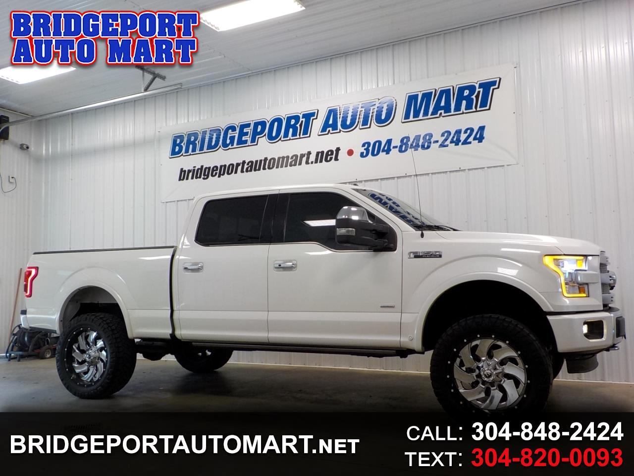 "2015 Ford F-150 4WD SuperCrew 157"" Platinum"