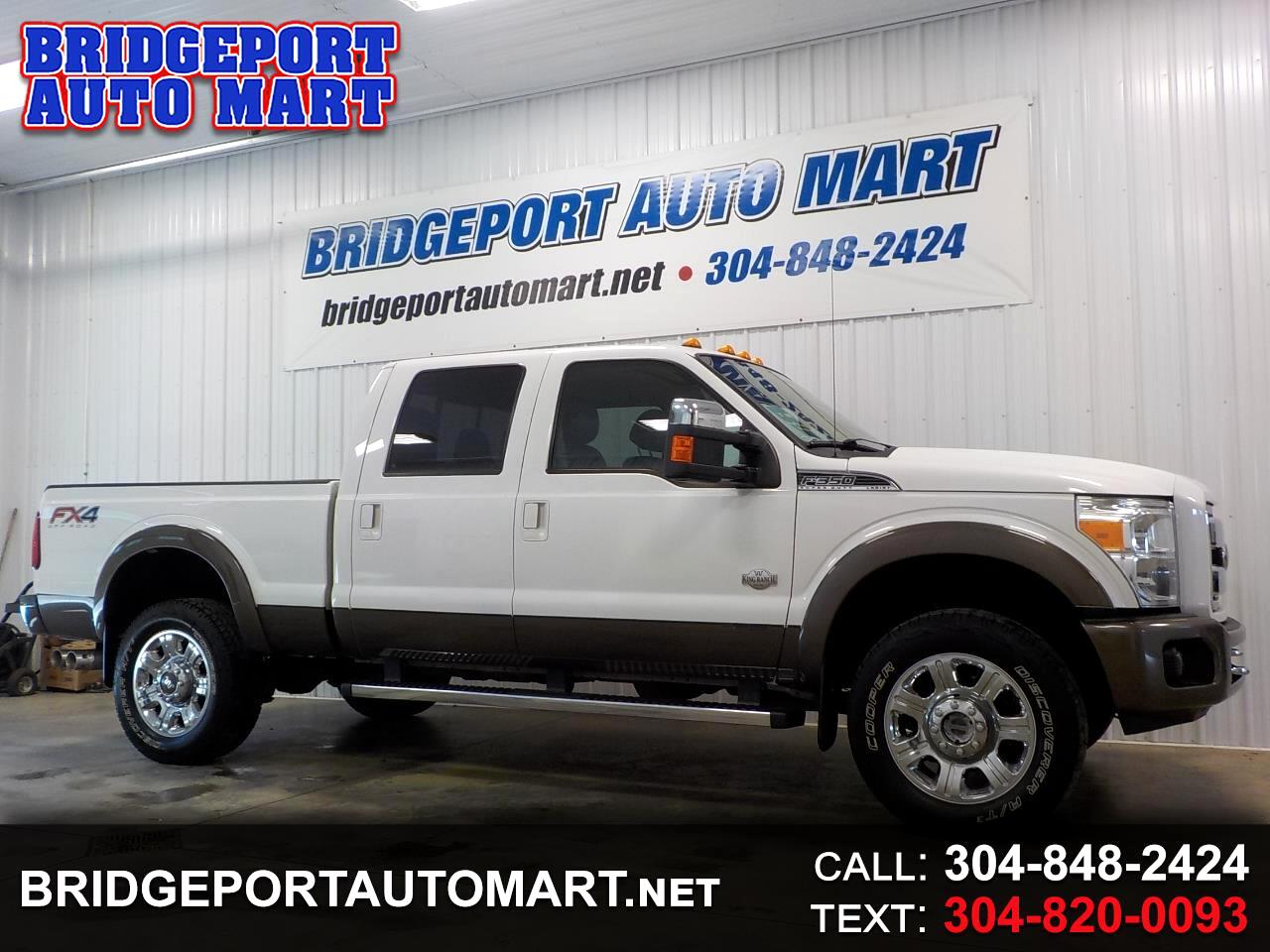 "2015 Ford Super Duty F-350 SRW 4WD Crew Cab 156"" King Ranch"
