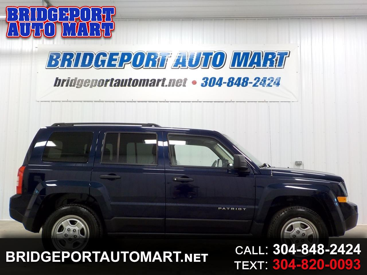 Jeep Patriot 4WD 4dr Sport 2015