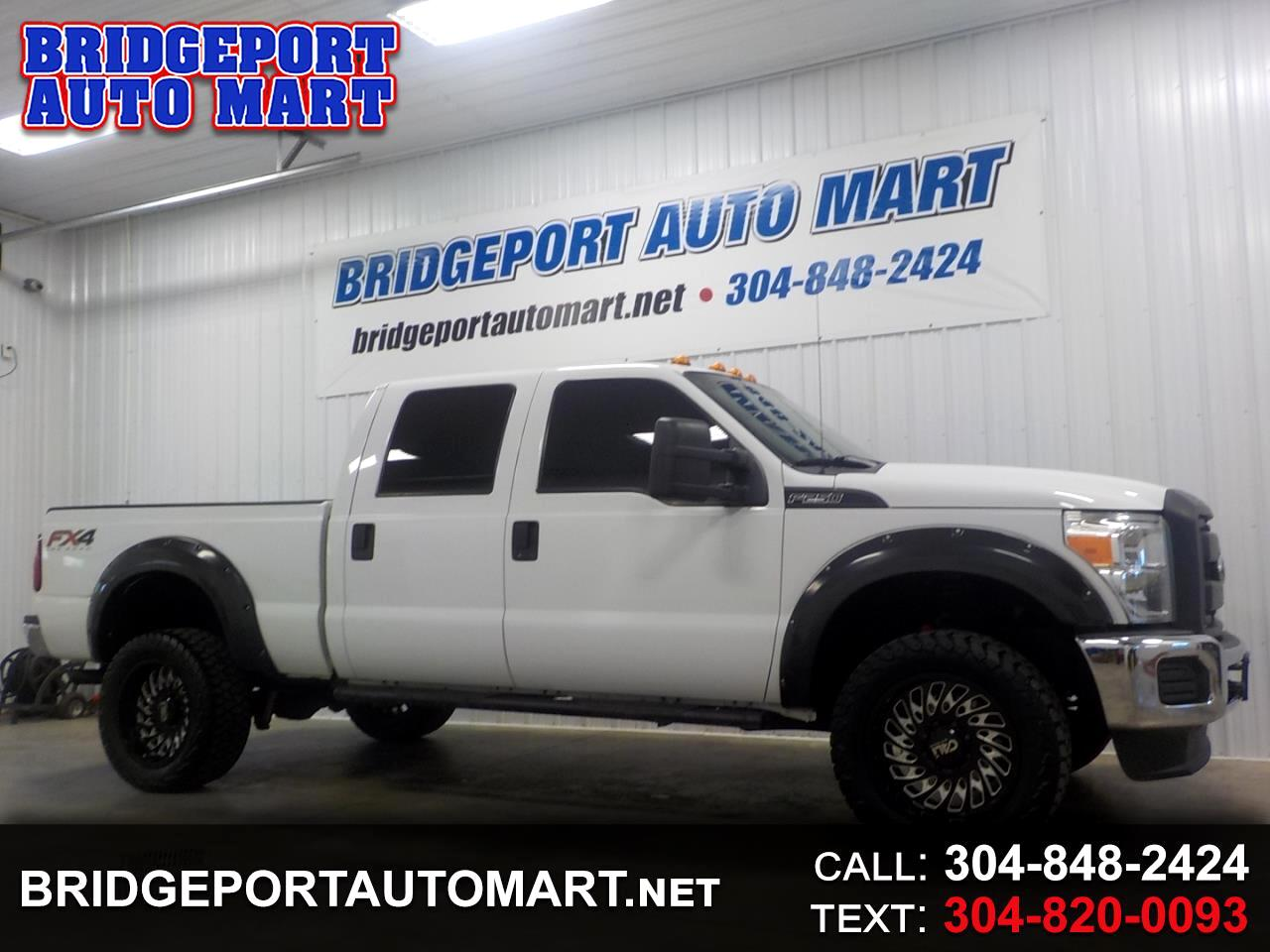 "Ford Super Duty F-250 SRW 4WD Crew Cab 156"" XL 2013"