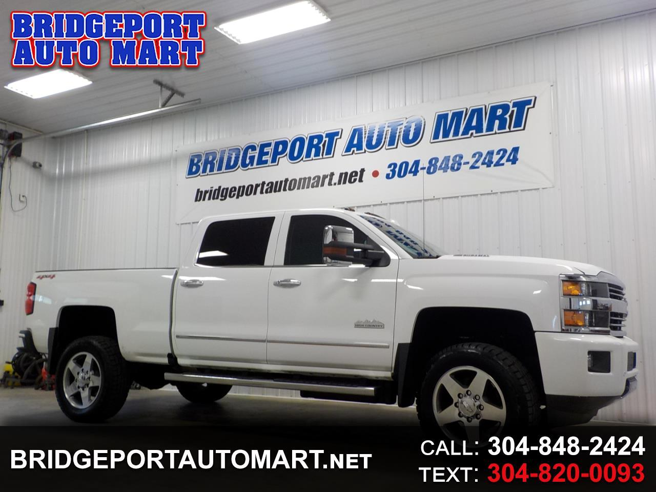 "Chevrolet Silverado 2500HD 4WD Crew Cab 153.7"" High Country 2016"