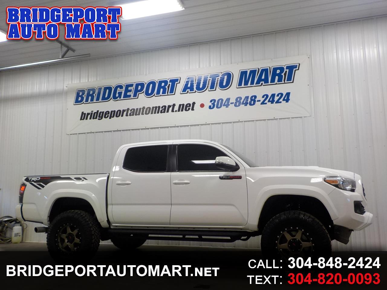 Toyota Tacoma 4WD TRD Sport Double Cab 5' Bed V6 MT (Natl) 2019