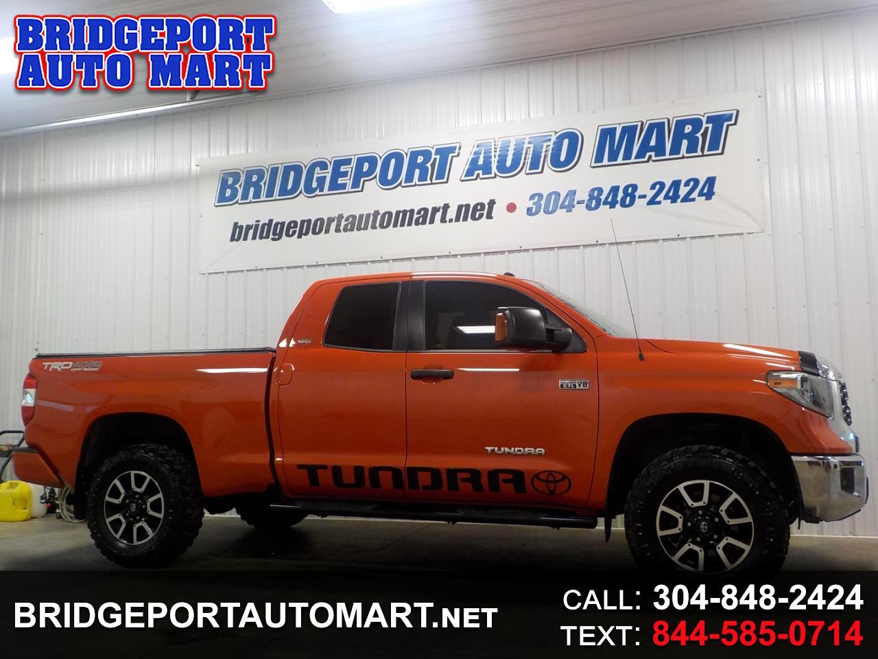 Toyota Tundra 4WD SR5 Double Cab 6.5' Bed 5.7L (Natl) 2018