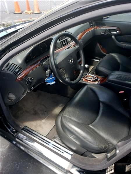 2003 Mercedes-Benz S-Class S500