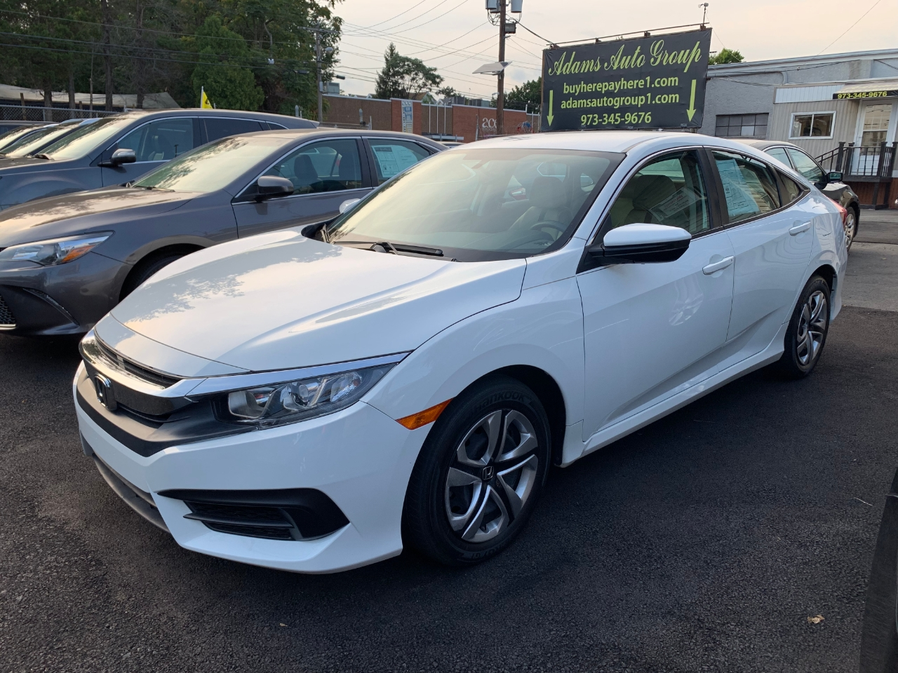 Adams Auto Group >> Used 2016 Honda Civic Lx Sedan Cvt For Sale In Little Ferry