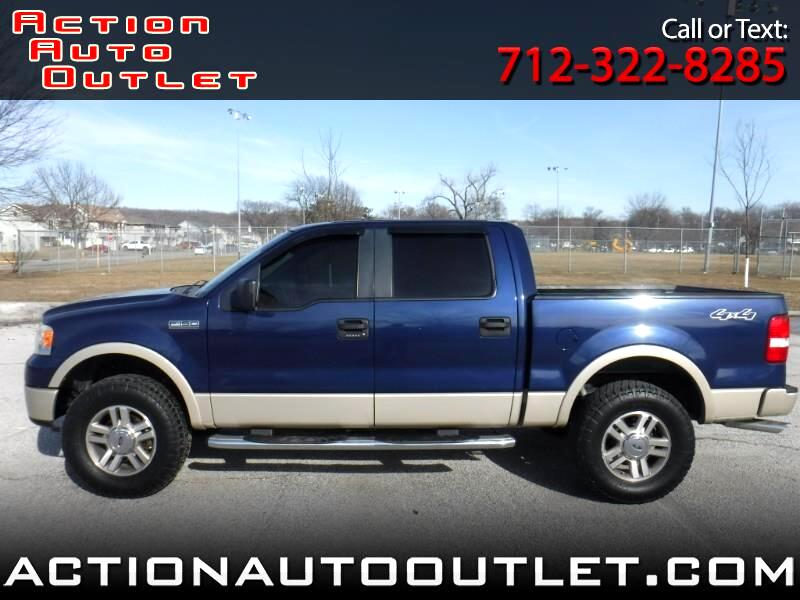 2007 Ford F-150 Lariat 4WD SuperCrew 5.5' Box