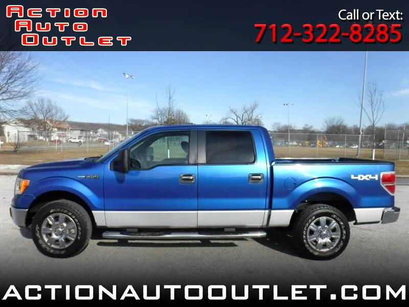 2009 Ford F-150 XLT 4WD SuperCrew 5.5' Box