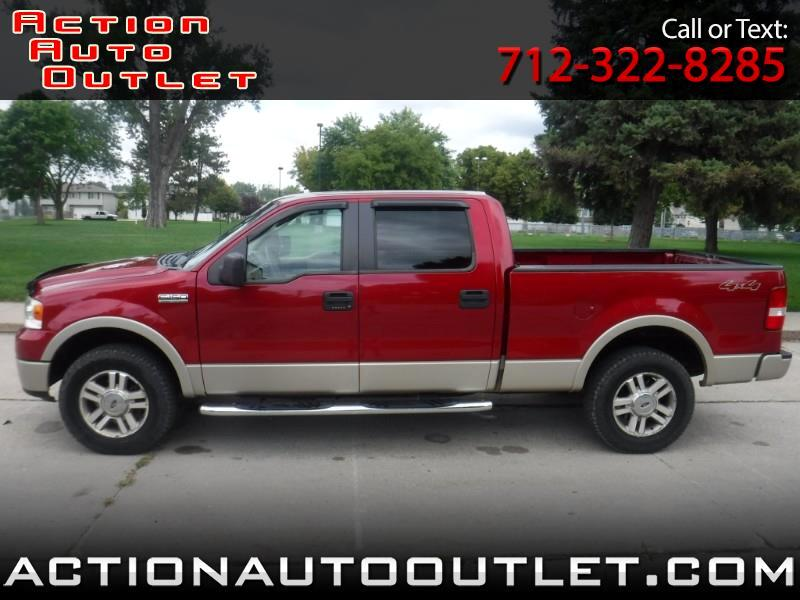 2007 Ford F-150 Lariat 4WD SuperCrew 6.5' Box