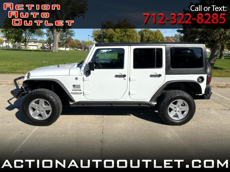 2012 Jeep Wrangler Unlimited Sport 4WD